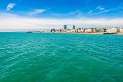 Brighton wybrzeże Fotografia Royalty Free