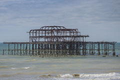 Brightons West Pier Stock Photography