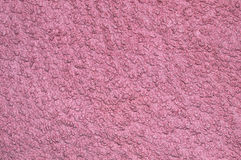Brighy pink fabric texture with fibers on top of the canvas. Tissue texture Royalty Free Stock Images