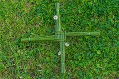 Brigid St krzyż zdjęcia royalty free