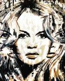 Brigitte Bardot Fotografia Stock Libera da Diritti