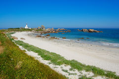 Brignogan bay, bretagne, france Stock Image