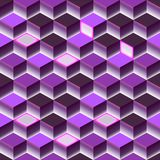 Brigt violet abstract texture. Vector background 3d cube. For cover, book, website design, poster, flyer, advertising stock illustration
