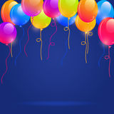 Brigth Colorful Balloons Royalty Free Stock Images