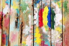 Brigth houten achtergrond Royalty-vrije Stock Afbeeldingen