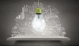 Brigth ideas Stock Photo