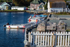 Brigus Boats Royalty Free Stock Images