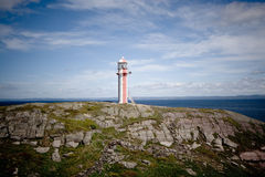 Brigus Lighthouse Stock Photo
