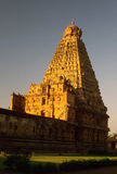Brihadeeshwara Temple,Thanjavur,Tamil Nadu,India. This temple a 'world heritage site' is amogst the largest and architecturally the best that india has.it is Royalty Free Stock Image