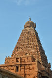 Brihadeeswara-Tempel, Thanjavur stockbild