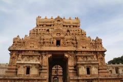 Brihadeeswarar stor tempel Royaltyfria Foton