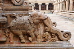 Brihadeeswarar Temple royalty free stock photos