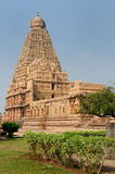 Brihadeeswarar Temple in India Stock Image