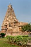Brihadeeswarar Temple in India stock image