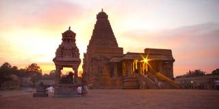 Brihadeeswarar Temple in Thanjavur Stock Images