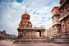 Brihadishvara Temple. India Stock Photo