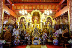 Brihadishwara do lanka de Tailândia Banguecoque do templo imagem de stock royalty free
