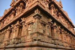 Brihadisvara świątynia, Gangaikonda Cholapuram, tamil nadu obraz royalty free