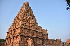 Brihadisvaratempel, Thanjavur, Tamil Nadu stock fotografie