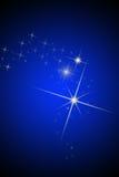 brihgt gwiazdy Zdjęcia Royalty Free