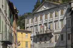 Briighella Ravenna, Włochy: Guglielmo Marconi kwadrat obrazy stock