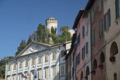 Briighella Ravenna, Włochy: Guglielmo Marconi kwadrat zdjęcie royalty free