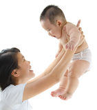 Brij en baby Stock Afbeeldingen
