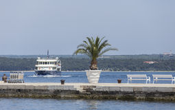 Brijuni's Pier Royalty Free Stock Image