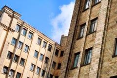 brik παλαιός αστικός οικοδό&m Στοκ Εικόνες