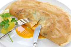 Brik, Tunisian Food Royalty Free Stock Photos