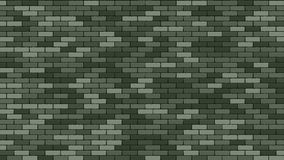 Brik Wall Vector. Green Stone Brik Wall Buidling. Military 23 February Brik Wall Background. Cartoon Illustration royalty free illustration