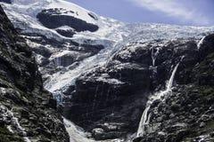 briksdal冰川挪威 免版税库存图片