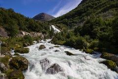 briksdal ледник Норвегия Стоковые Изображения RF