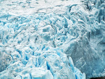briksdal glaciär royaltyfri bild