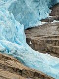 briksdal glaciär Royaltyfria Foton