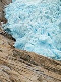 Briksdal Glacier Stock Photo
