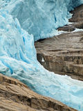 Briksdal Glacier Royalty Free Stock Photos