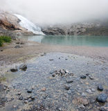Briksdal Glacier Stock Images