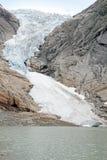 Briksdal glacier Norway Stock Image