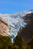 Briksdal glacier - Norway Stock Photography