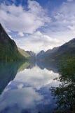 Briksdal Glacier Valley stock photos
