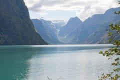 Briksdal Glacier Royalty Free Stock Photo