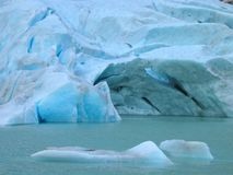 Briksdal Gletscher Stockfotografie