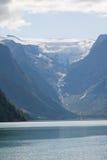 Briksdal Gletscher Lizenzfreie Stockbilder