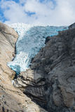 Briksdal Gletscher, Norwegen Lizenzfreies Stockfoto
