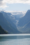 briksdal lodowiec Obrazy Royalty Free