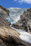 Briksdalsbreen Glacier Royalty Free Stock Photos