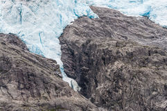 Briksdalsbreen glacier Royalty Free Stock Photography