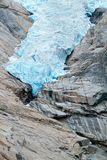 Briksdalsbreen glacier detail in Norway Stock Image
