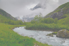 Briksdalsbreen Royalty Free Stock Photography